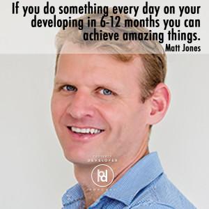 Matt Jones is a property developer and entrepreneur.