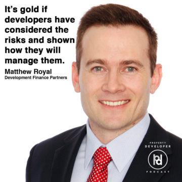 Matthew Royal from Development Finance Partners