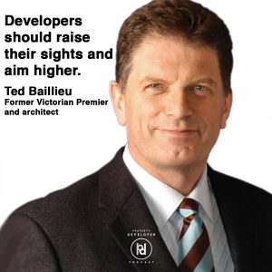 Ted Baillieu speaks on the Property Developer Podcast