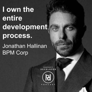 Jonathan Hallinan from BPM Corp on the Property Developer Podcast
